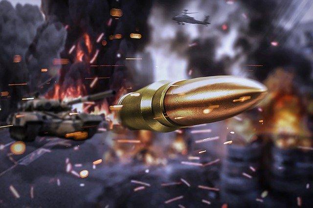 jeu vidéo de guerre