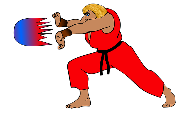 dessin ken de street fighter