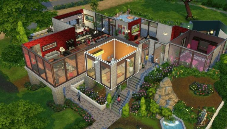 maison des sims