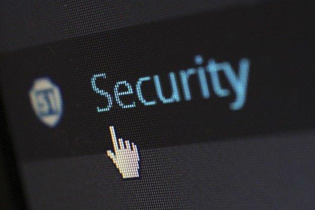 icone de sécurité sur ordinateur