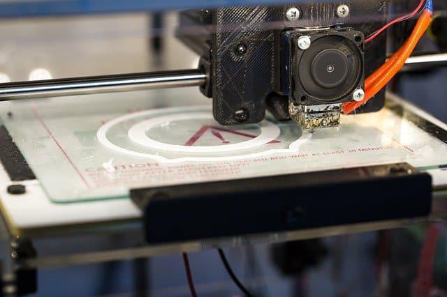 imprimante 3d en action